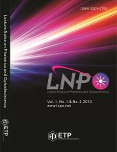 Lecture Notes on Photonics and Optoelectronics (LNPO)